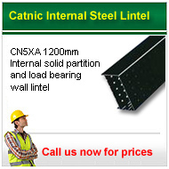 catnic CN5XA 1200mm long steel lintel  Call for prices