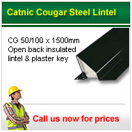 Catnic Lintels, call us now for prices